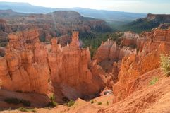 Formations merveilleuses de Hodes en Bryce Canyon géologie Voyage nature images libres de droits