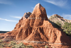 Formations in Palo Duro Canyon Royalty Free Stock Image
