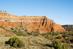 Formations in Palo Duro Canyon Royalty Free Stock Images