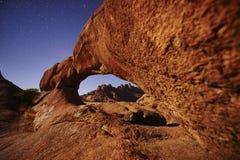 Formations rocheuses de Spitzkoppe Image libre de droits