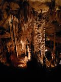 Formations souterraines dans une caverne image libre de droits