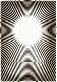 Formato astratto del fondo a4 Spirale di semitono del modello Wave, cerchio Immagini Stock Libere da Diritti