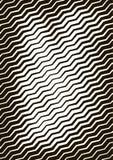 Formato astratto del fondo a4 Spirale di semitono del modello Wave, cerchio Immagine Stock