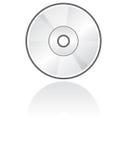 Formato CD del vector del icono Imagen de archivo libre de regalías