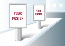 Formato de la presentación del cartel. Fotografía de archivo libre de regalías