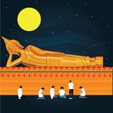 Formato del illustion EPS 10 de Buda imágenes de archivo libres de regalías