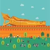 Formato del illustion EPS 10 de Buda fotografía de archivo libre de regalías