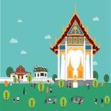 Formato del illustion EPS 10 de Buda imagen de archivo