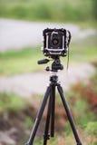 Formato grande de la cámara fotografía de archivo