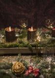 Formato vertical del cubierto de la Navidad Imagen de archivo libre de regalías