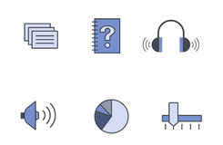 formatsymbolsvektor stock illustrationer