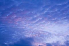 Formazione astratta della nuvola immagini stock libere da diritti