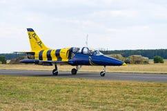 Formazione baltica delle api su Radom Airshow, Polonia immagine stock