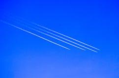 Formazione degli aeroplani immagine stock
