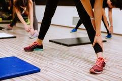 Formazione dei weightloss di allenamento dell'ABS Immagini Stock Libere da Diritti
