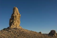 Formazione del camino della roccia Immagini Stock