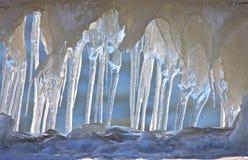 Formazione del ghiacciolo Fotografia Stock
