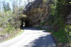 Formazione del tunnel della roccia Immagini Stock