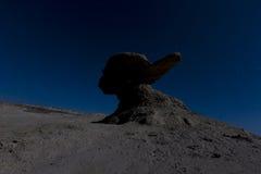 Formazione dell'arenaria in Ischigualasto, Argentina Immagini Stock Libere da Diritti