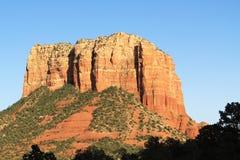 Formazione della collina del tribunale in Sedona Arizona Fotografia Stock Libera da Diritti