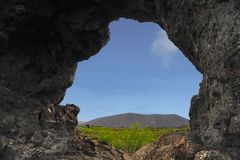 Formazione della lava di Islanda Fotografia Stock