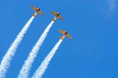 Formazione di Airshow Fotografia Stock