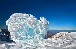 Formazione di ghiaccio immagini stock libere da diritti