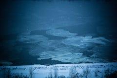 Formazione di ghiaccio Fotografie Stock Libere da Diritti