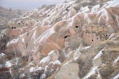 Formazione di pietra speciale di Cappadocia Immagini Stock Libere da Diritti