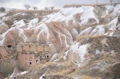 Formazione di pietra speciale di Cappadocia Immagini Stock