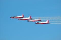 Formazione di volo Fotografia Stock