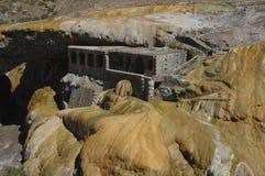Formazione geologica di Puente del Inca Fotografia Stock Libera da Diritti