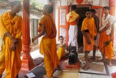 Formazione religiosa in India Immagine Stock