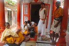 Formazione religiosa in India Fotografia Stock