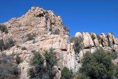 Formazione rocciosa Fotografie Stock