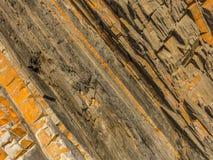 Formazione rocciosa astratta naturale Fotografia Stock Libera da Diritti