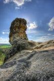 Formazione rocciosa bizzarra Immagini Stock