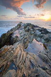 Formazione rocciosa in California Fotografia Stock Libera da Diritti