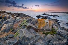 Formazione rocciosa in California Fotografie Stock
