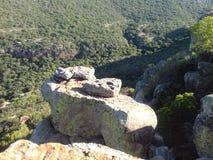 Formazione rocciosa in canyon del fiume di Blyde fotografie stock libere da diritti