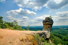 Formazione rocciosa capo- di Capska Fotografie Stock Libere da Diritti