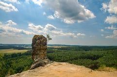 Formazione rocciosa capo- di Capska Immagini Stock