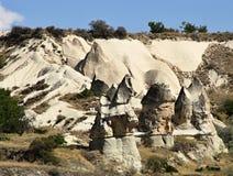 Formazione rocciosa in Cappadocia immagini stock libere da diritti