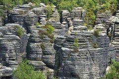 Formazione rocciosa dell'arenaria Fotografie Stock Libere da Diritti