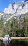 Formazione rocciosa di EL Capitan Fotografia Stock