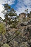 Formazione rocciosa di Gygrestolen Fotografia Stock