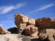 Formazione rocciosa di Ischigualasto fotografie stock libere da diritti