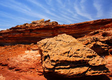 Formazione rocciosa di Kalbarri Immagini Stock