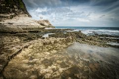 Formazione rocciosa di Kapurpurawan Immagini Stock Libere da Diritti