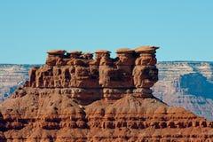 Formazione rocciosa di MESA fotografia stock